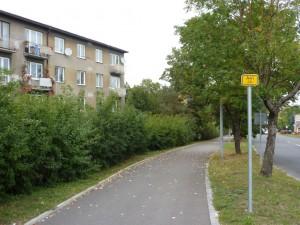Trasa A41 na Spořilově