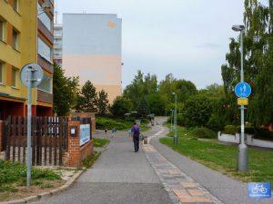 Trasa ŘE-HL ve Stodůlkách
