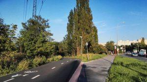 Cyklostezka kolem Košíkovského potoka